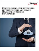 understanding costs differences between idaas and on premise deployments
