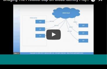 video bridging the protocol gap in cloud identity services