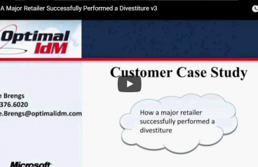 How A Major Retailer Successfully Performed a Divestiture v3
