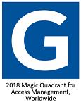 Gartner Magic Quadrant for Access Management, Worldwide 2018