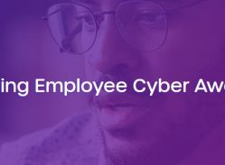 Best Practices for Improving Employee Cyber Awareness graphic header